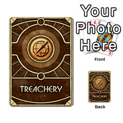 Dune Treachery  By Rafael Fuentes   Multi Purpose Cards (rectangle)   4jzhf4j4yqgg   Www Artscow Com Back 19