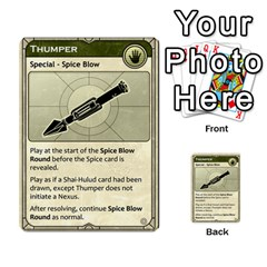 Dune Treachery  By Rafael Fuentes   Multi Purpose Cards (rectangle)   4jzhf4j4yqgg   Www Artscow Com Front 37