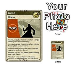 Dune Spice, Alliance  By Rafael Fuentes   Multi Purpose Cards (rectangle)   Tlebi0dm8vzl   Www Artscow Com Front 25