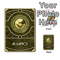 Dune Spice, Alliance  By Rafael Fuentes   Multi Purpose Cards (rectangle)   Tlebi0dm8vzl   Www Artscow Com Frontback