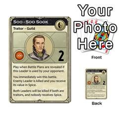 Dune Traitor, Bonus  By Rafael Fuentes   Multi Purpose Cards (rectangle)   83ndu76ju6h0   Www Artscow Com Front 6