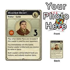 Dune Traitor, Bonus  By Rafael Fuentes   Multi Purpose Cards (rectangle)   83ndu76ju6h0   Www Artscow Com Front 11