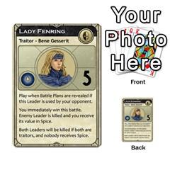 Dune Traitor, Bonus  By Rafael Fuentes   Multi Purpose Cards (rectangle)   83ndu76ju6h0   Www Artscow Com Front 14