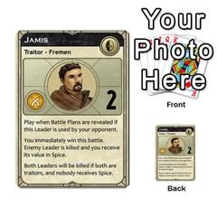 Dune Traitor, Bonus  By Rafael Fuentes   Multi Purpose Cards (rectangle)   83ndu76ju6h0   Www Artscow Com Front 15
