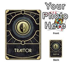 Dune Traitor, Bonus  By Rafael Fuentes   Multi Purpose Cards (rectangle)   83ndu76ju6h0   Www Artscow Com Back 2