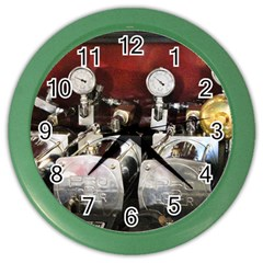 Willytrunk Wall Clock (Color) by BigCity212