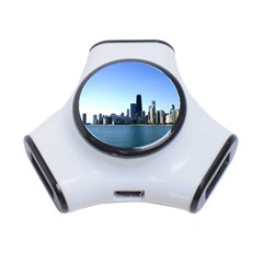 Chicago Skyline 3 Port Usb Hub