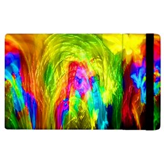 Painted Forrest Apple Ipad 3/4 Flip Case by masquerades