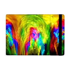 Painted Forrest Apple Ipad Mini Flip Case by masquerades