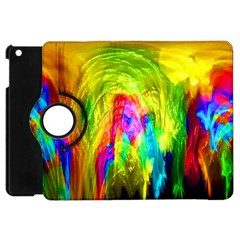 Painted Forrest Apple Ipad Mini Flip 360 Case by masquerades