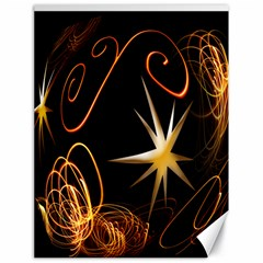 Light s And Star s Canvas 18  X 24  (unframed)