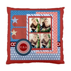 Usa 4 July By Usa   Standard Cushion Case (two Sides)   Amdbbavxz9yf   Www Artscow Com Back