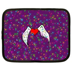 Your Heart Has Wings So Fly   Updated Netbook Case (large) by KurisutsuresRandoms