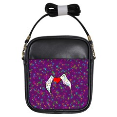 Your Heart Has Wings So Fly   Updated Girl s Sling Bag
