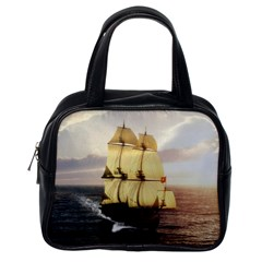 French Warship Classic Handbag (one Side) by gatterwe