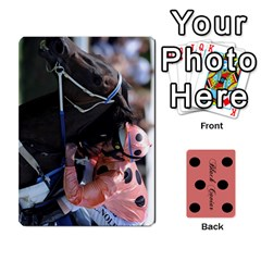 Black Caviar By Chevy Chase   Playing Cards 54 Designs   Qavhy1kju00l   Www Artscow Com Front - Spade2