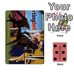 Black Caviar By Chevy Chase   Playing Cards 54 Designs   Qavhy1kju00l   Www Artscow Com Front - Spade3