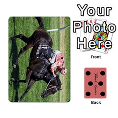 Black Caviar By Chevy Chase   Playing Cards 54 Designs   Qavhy1kju00l   Www Artscow Com Front - Heart3