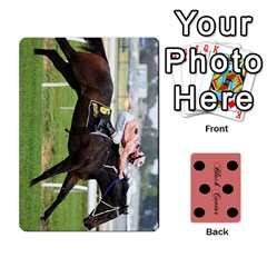 Black Caviar By Chevy Chase   Playing Cards 54 Designs   Qavhy1kju00l   Www Artscow Com Front - Heart4