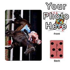 Black Caviar By Chevy Chase   Playing Cards 54 Designs   Qavhy1kju00l   Www Artscow Com Front - Heart5