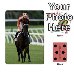 Black Caviar By Chevy Chase   Playing Cards 54 Designs   Qavhy1kju00l   Www Artscow Com Front - Heart7