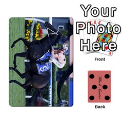 Queen Black Caviar By Chevy Chase   Playing Cards 54 Designs   Qavhy1kju00l   Www Artscow Com Front - DiamondQ
