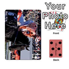 Black Caviar By Chevy Chase   Playing Cards 54 Designs   Qavhy1kju00l   Www Artscow Com Front - Club2