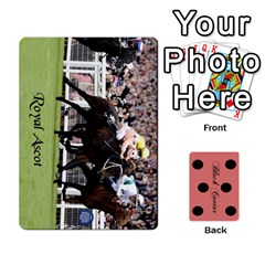 Black Caviar By Chevy Chase   Playing Cards 54 Designs   Qavhy1kju00l   Www Artscow Com Front - Spade6