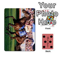 Black Caviar By Chevy Chase   Playing Cards 54 Designs   Qavhy1kju00l   Www Artscow Com Front - Club5