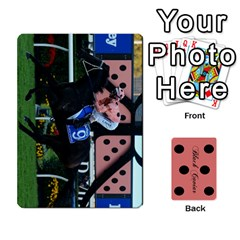 Black Caviar By Chevy Chase   Playing Cards 54 Designs   Qavhy1kju00l   Www Artscow Com Front - Club6