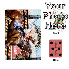 Black Caviar By Chevy Chase   Playing Cards 54 Designs   Qavhy1kju00l   Www Artscow Com Front - Club7