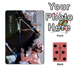 Black Caviar By Chevy Chase   Playing Cards 54 Designs   Qavhy1kju00l   Www Artscow Com Front - Club8