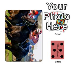 Black Caviar By Chevy Chase   Playing Cards 54 Designs   Qavhy1kju00l   Www Artscow Com Front - Club9