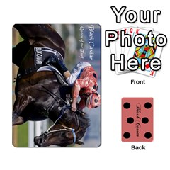 King Black Caviar By Chevy Chase   Playing Cards 54 Designs   Qavhy1kju00l   Www Artscow Com Front - ClubK