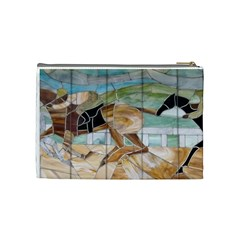 Medium Cosmetic Bag By Lisa Johnson   Cosmetic Bag (medium)   T5oq9y1lnuyd   Www Artscow Com Back