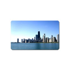 Chicago Skyline Magnet (name Card) by canvasngiftshop