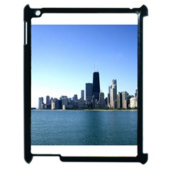 Chicago Skyline Apple Ipad 2 Case (black) by canvasngiftshop