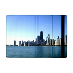 Chicago Skyline Apple Ipad Mini Flip Case by canvasngiftshop