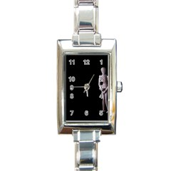 I Have To Go Rectangular Italian Charm Watch by hlehnerer