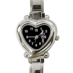I Have To Go Heart Italian Charm Watch  by hlehnerer