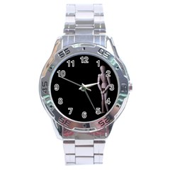 I Have To Go Stainless Steel Watch (men s)