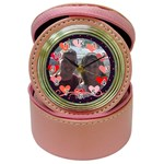 Circle of Love clock jewelry box - Jewelry Case Clock