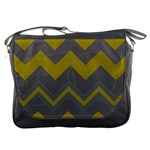 Chevron Messenger Bag