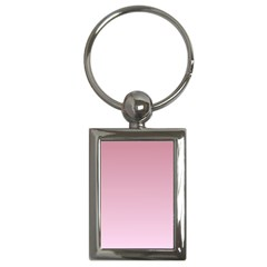 Puce To Pink Lace Gradient Key Chain (rectangle)