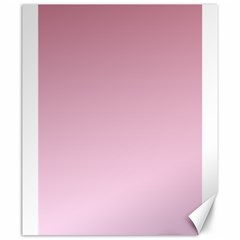 Puce To Pink Lace Gradient Canvas 20  X 24  (unframed)