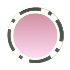 Puce To Pink Lace Gradient Poker Chip