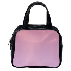 Puce To Pink Lace Gradient Classic Handbag (one Side) by BestCustomGiftsForYou