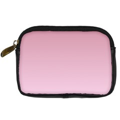 Puce To Pink Lace Gradient Digital Camera Leather Case