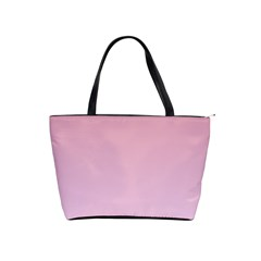 Puce To Pink Lace Gradient Large Shoulder Bag