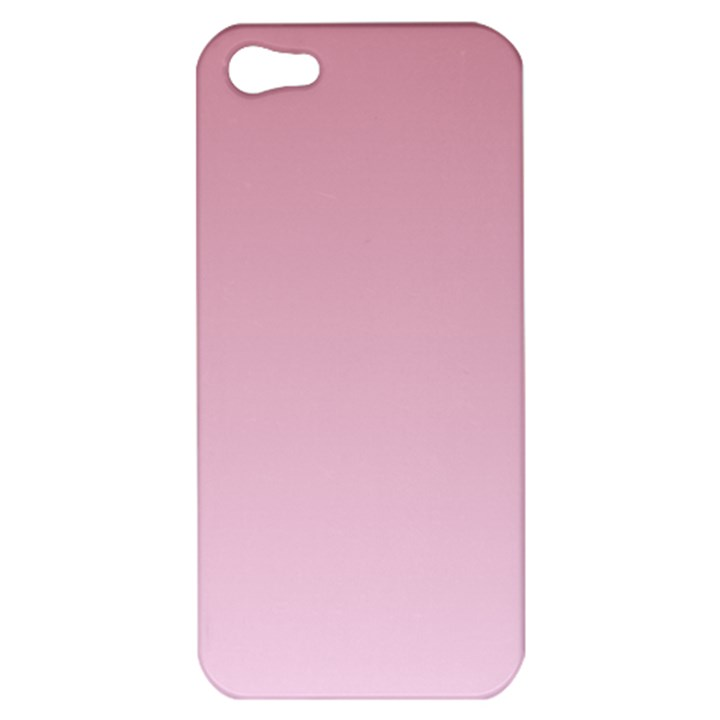 Puce To Pink Lace Gradient Apple iPhone 5 Hardshell Case